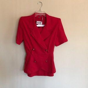 EUC skirt suit size 14P